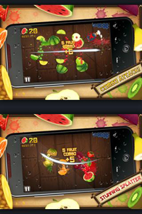 best applications fruit ninja