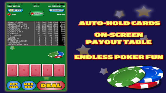 Video Casino Poker Free App Review